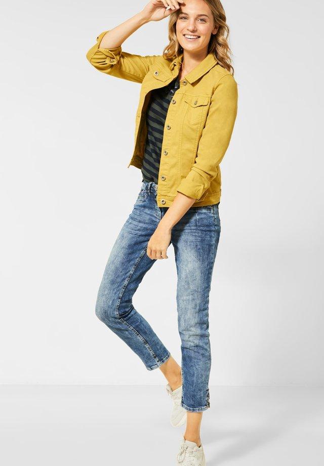 STYLE - Spijkerjas - gelb