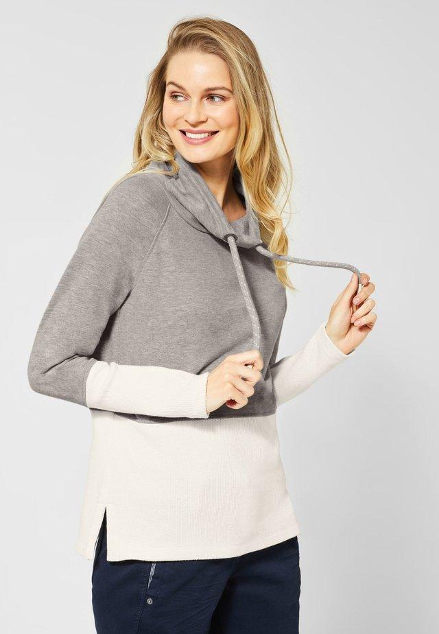 MIT MATERIALMIX - Sweater - grey