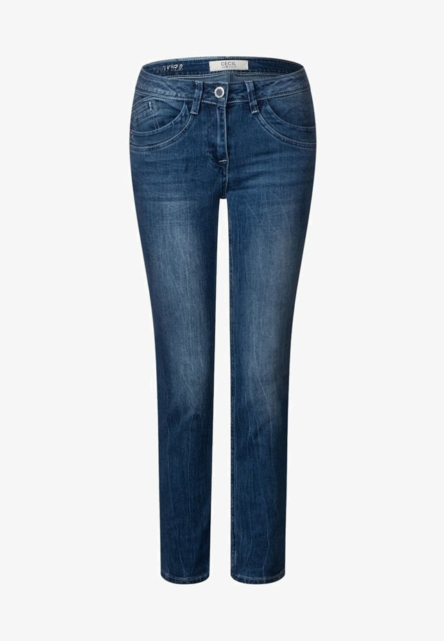 CHARLIZE - Slim fit jeans - blue