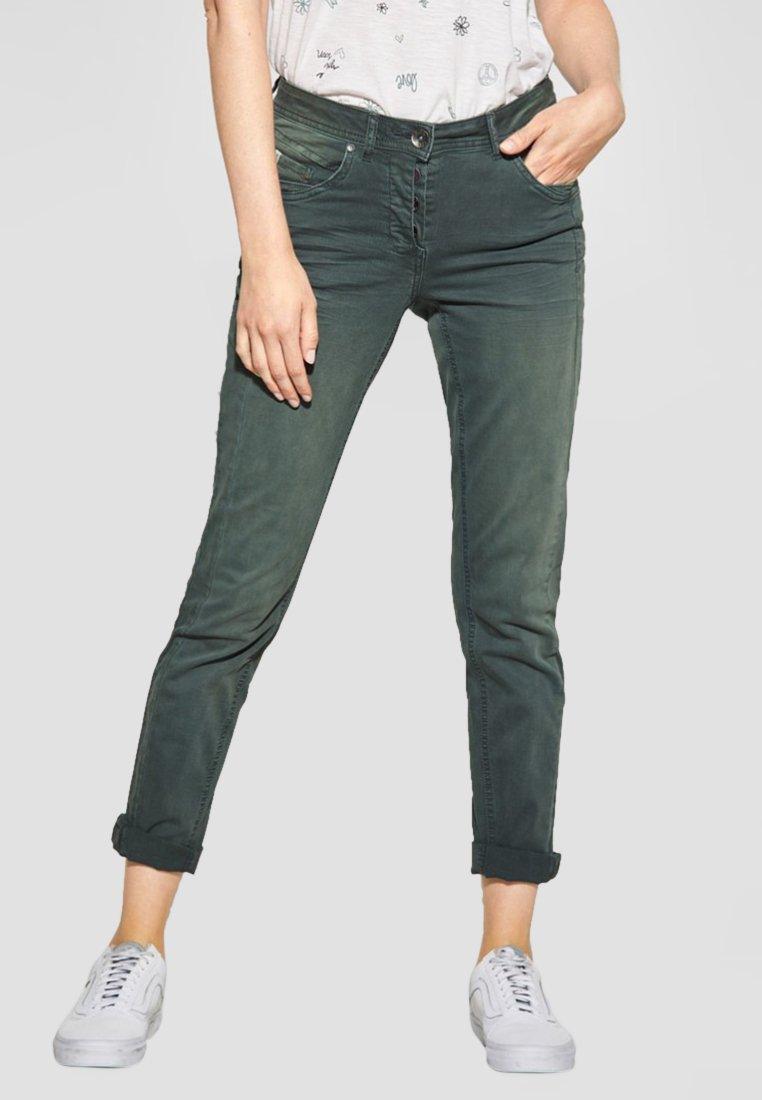 Cecil - Slim fit jeans - green