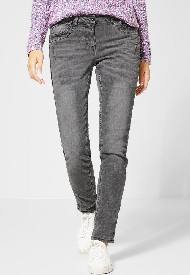 Straight leg jeans - gray