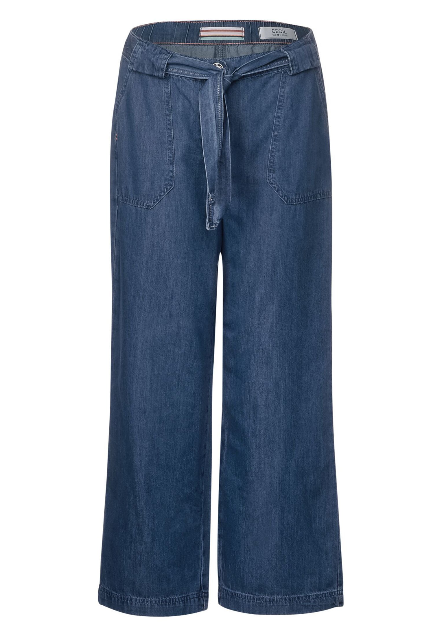 Cecil Flared Jeans - blue