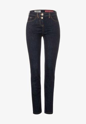 REPREVE - MIT HIGH WAIST - Slim fit jeans - blau