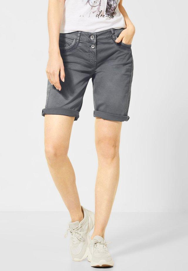 Jeans Shorts - grau