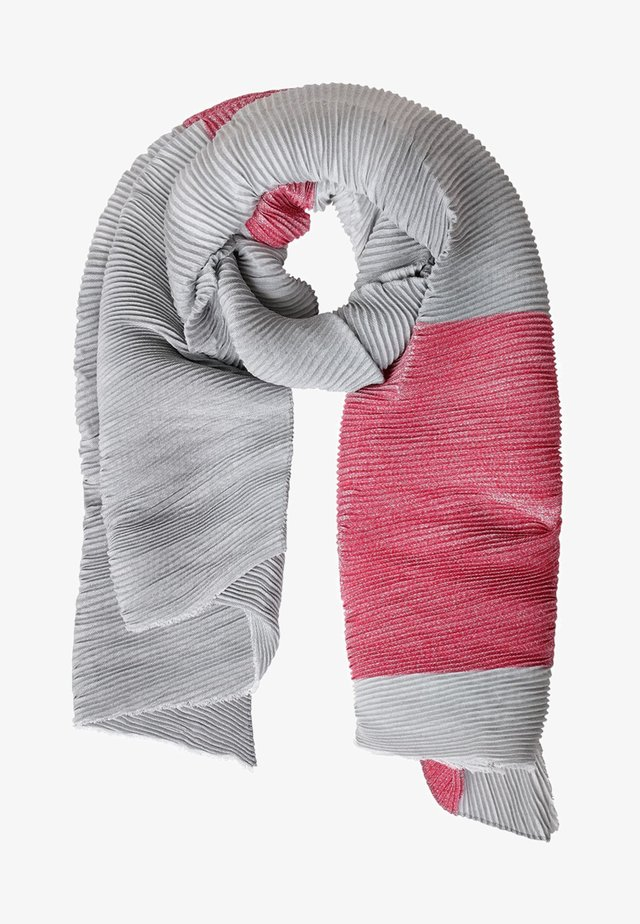 Scarf - mottled light grey