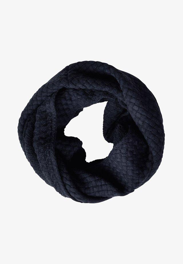 MIT STRICKSTRUKTUR - Snood - dark blue