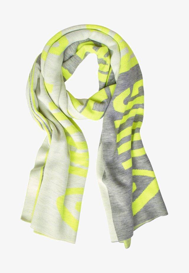 Scarf - neon yellow