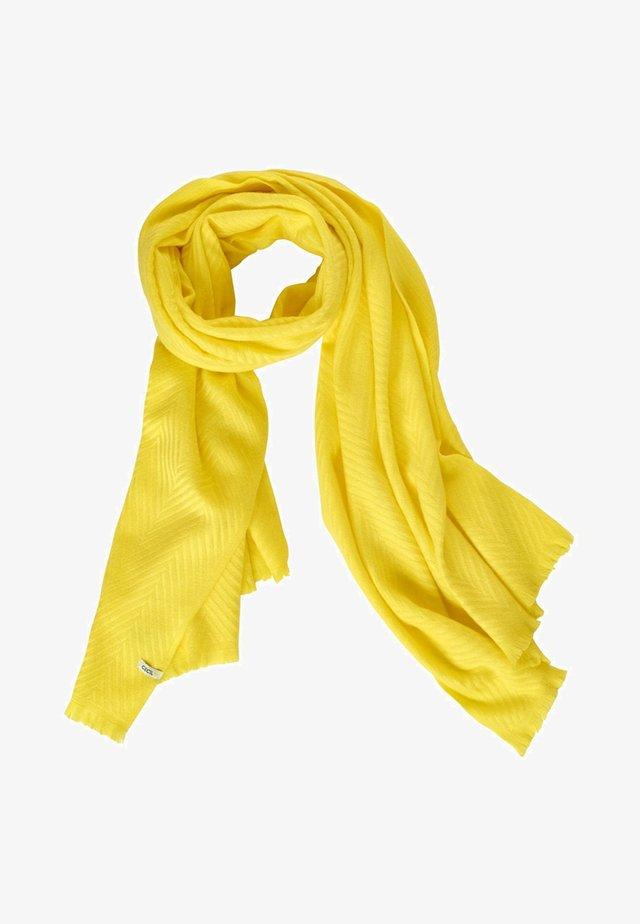 MIT STRUKTUR - Scarf - yellow