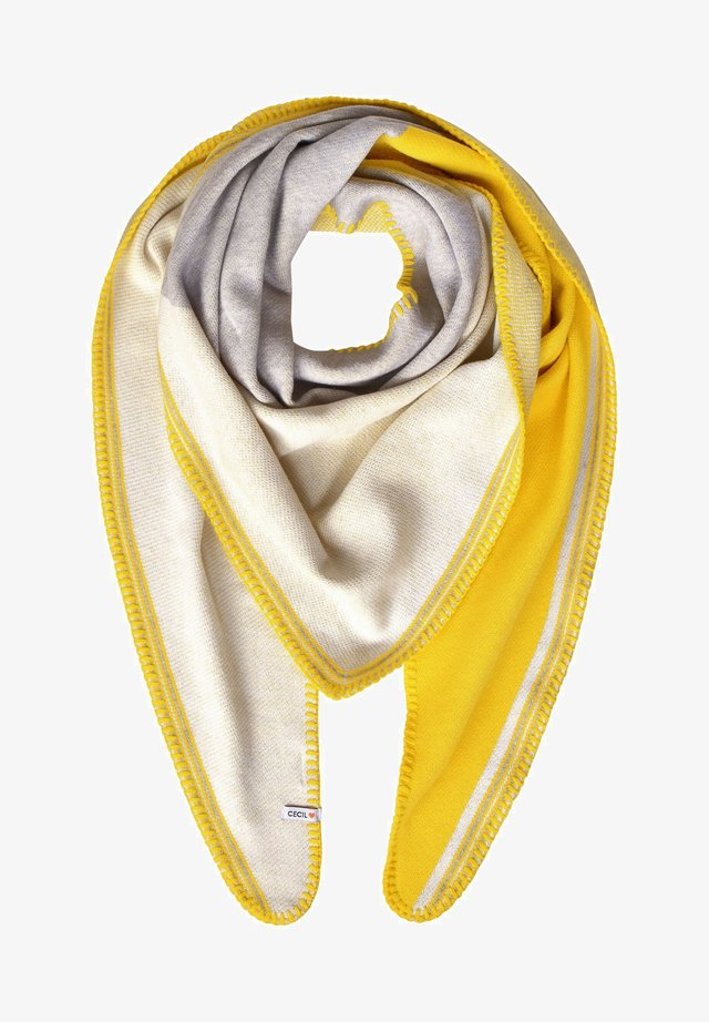 COLOURBLOCK-LOOK - Scarf - beige