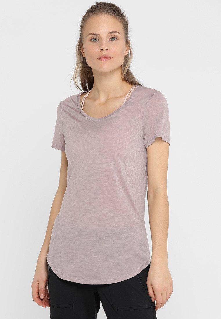 Icebreaker - SOLACE SCOOP - Basic T-shirt - dusk heather