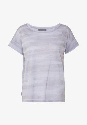 VIA SCOOP - Print T-shirt - mercury heather