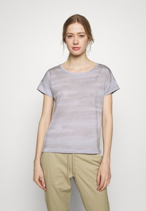 VIA SCOOP - T-shirts print - mercury heather