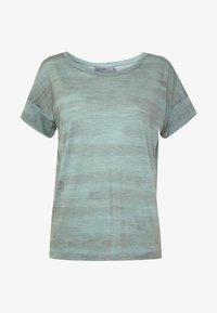 Icebreaker - VIA SCOOP - T-shirts print - shale - 4