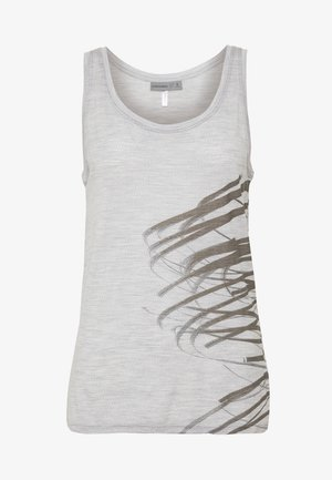 TECH LITE TANK BIRDS IN FLIGHT - Sports shirt - blizzard heather
