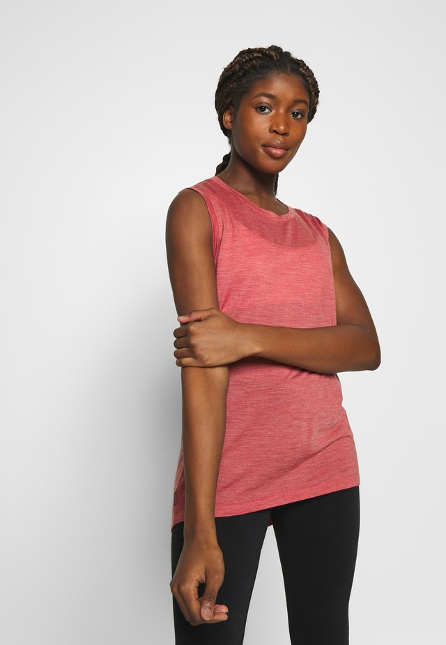 NATURE DYE DRAYDEN TANK - Funktionsshirt - madder root