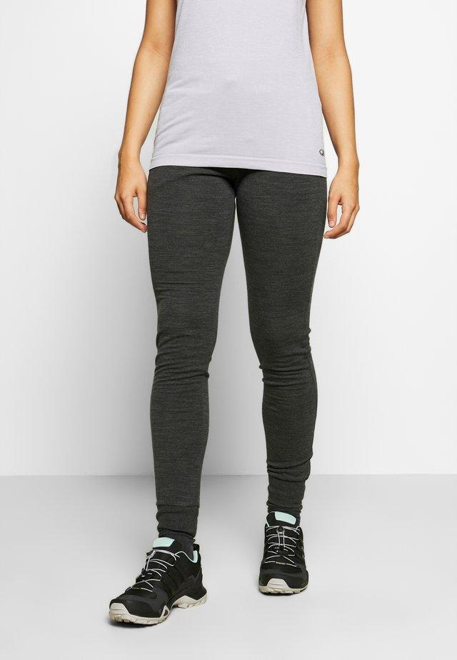 CRUSH PANTS - Teplákové kalhoty - jet heather