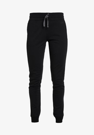 CRUSH PANTS - Tracksuit bottoms - black