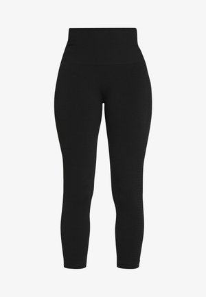 MOTION SEAMLESS 3Q - Leggings - black