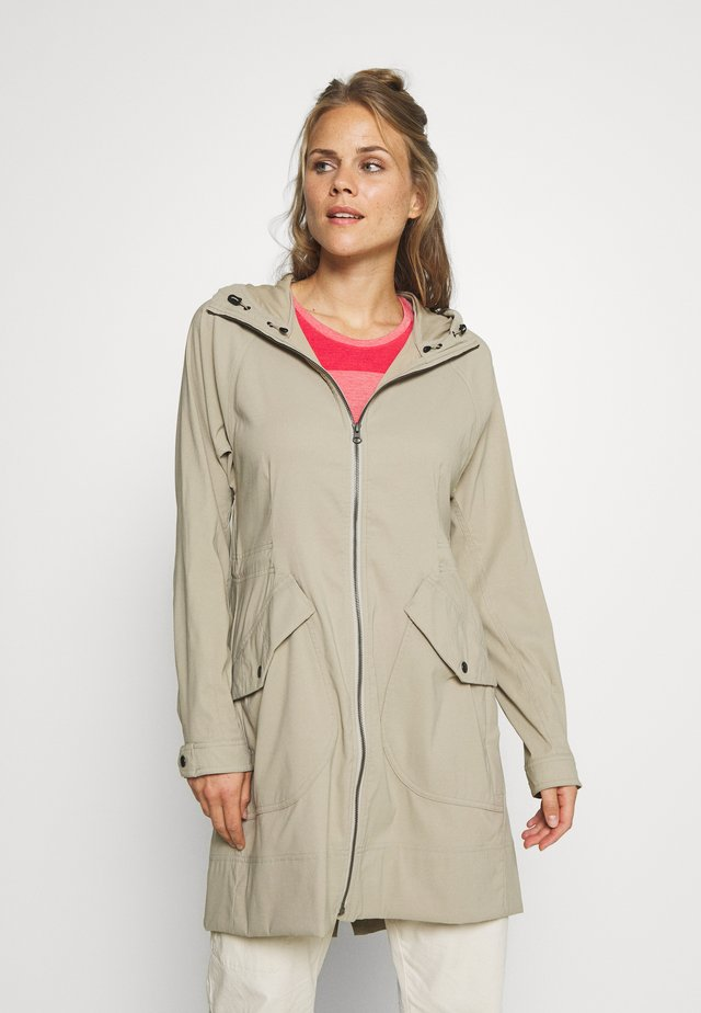 BRIAR HOODED ZIP  - Outdoorjacka - beige