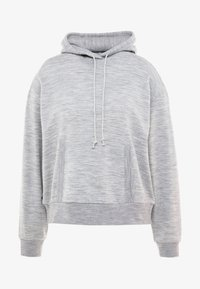 Icebreaker - TABI REAL FLEECE PULLOVER HOODY - Huppari - heather - 5