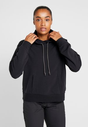 TABI REAL FLEECE PULLOVER HOODY - Jersey con capucha - deep midnight