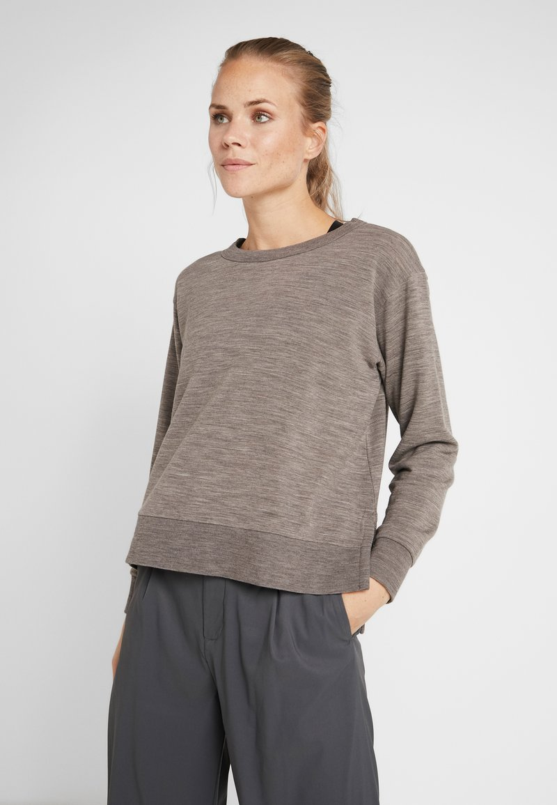 Icebreaker - TABI - Sweatshirt - trail heather