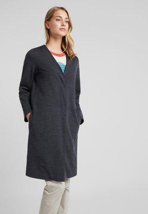 TABI TECH COAT - Zip-up hoodie - jet heather