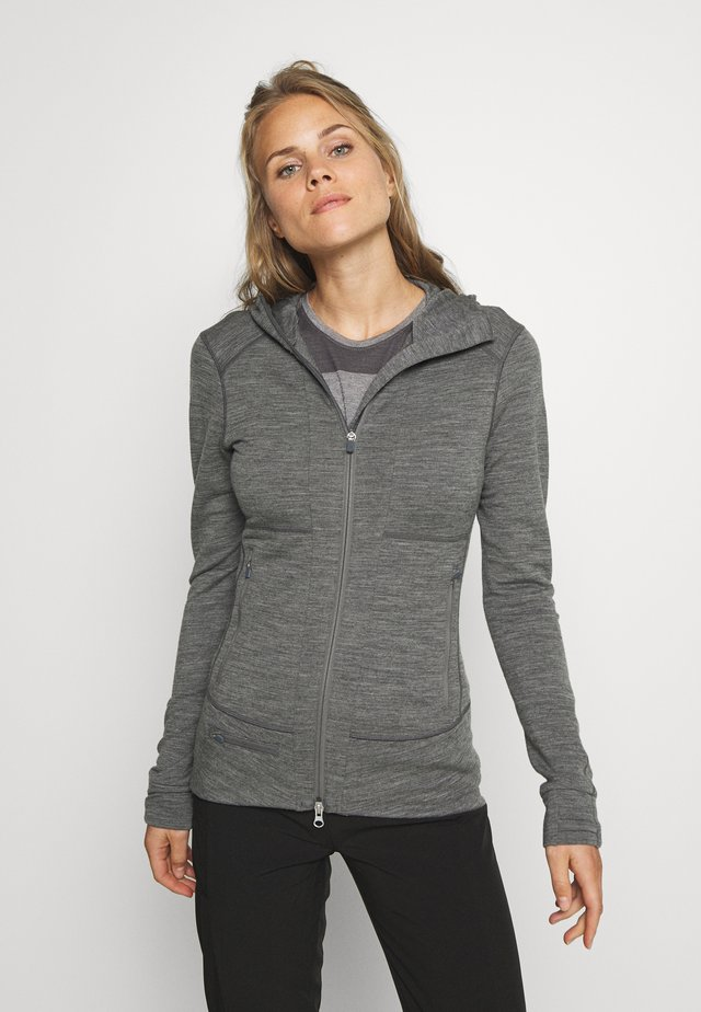 QUANTUM ZIP HOOD - Sweatjacke - grey