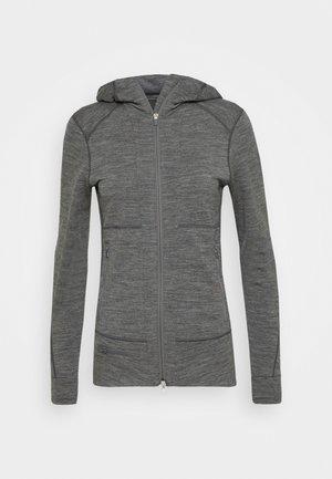 QUANTUM ZIP HOOD - veste en sweat zippée - grey
