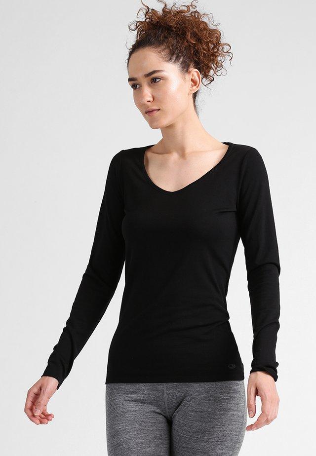 SIREN SWEETHEART - Unterhemd/-shirt - black