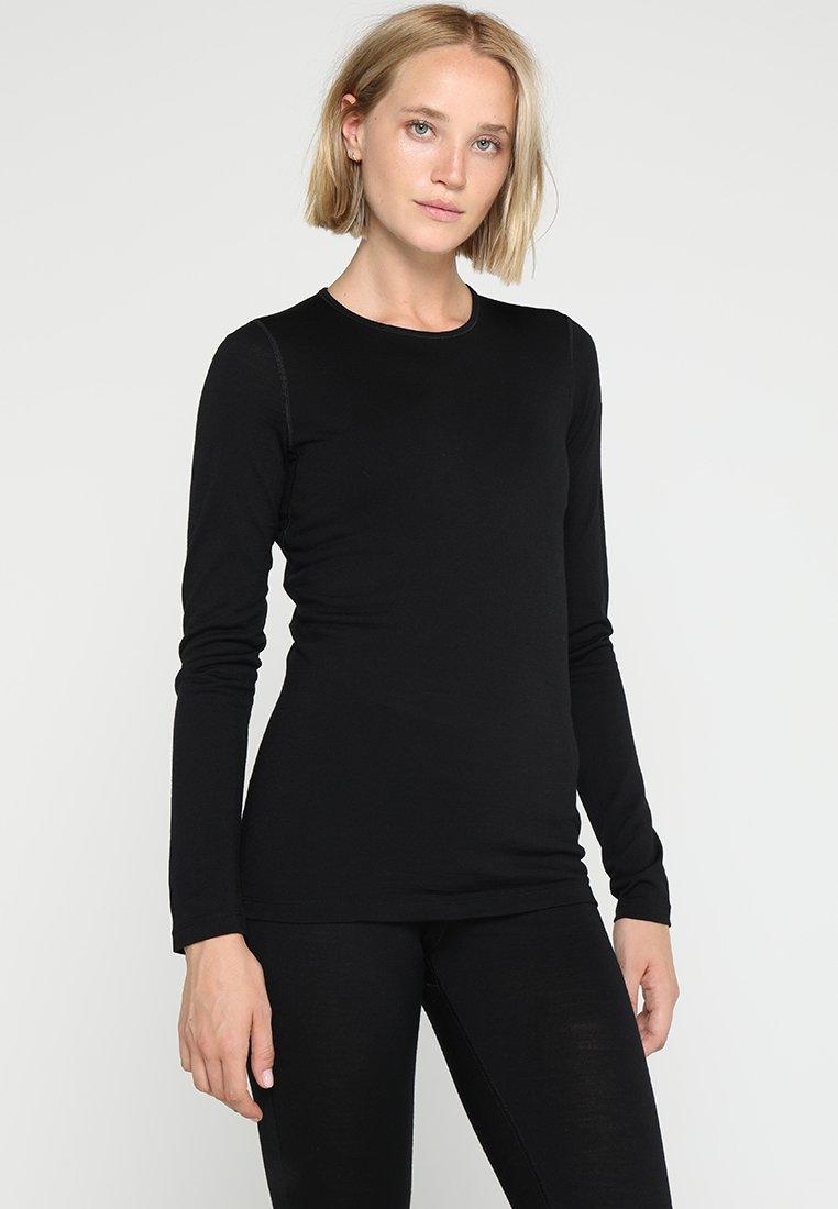 Icebreaker - OASIS CREWE - Camiseta interior - black