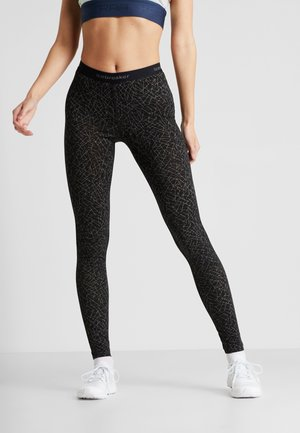 LEGGINGS SKY PATHS - Trikoot - black