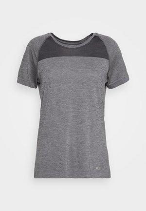 MOTION SEAMLESS CREWE - Basic T-shirt - grey