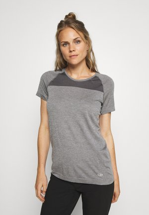 MOTION SEAMLESS CREWE - T-Shirt basic - grey