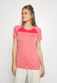 Icebreaker - MOTION SEAMLESS CREWE - Basic T-shirt - red - 0