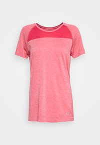 Icebreaker - MOTION SEAMLESS CREWE - Basic T-shirt - red - 4
