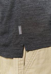 Icebreaker - MENS SOLACE - Poloshirts - black - 6