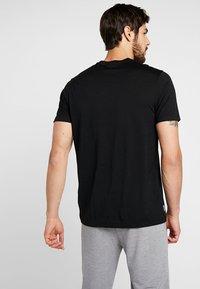 Icebreaker - BEAR LIFT - T-Shirt print - black - 2