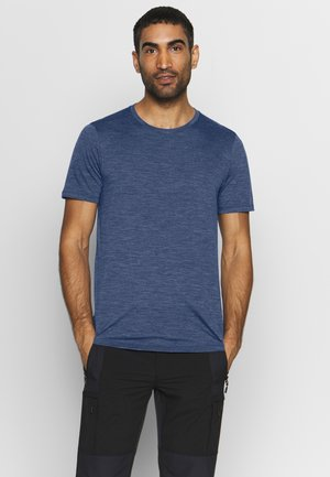 MENS SPHERE CREWE - T-shirts basic - estate blue heather