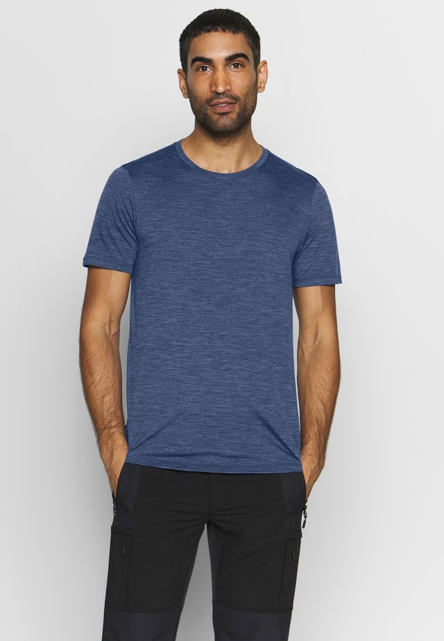 MENS SPHERE CREWE - T-shirt basic - estate blue heather