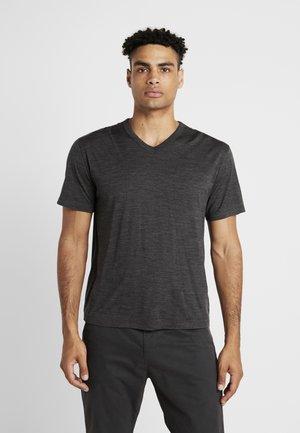 TABI TECH LITE  - Print T-shirt - dark grey melange