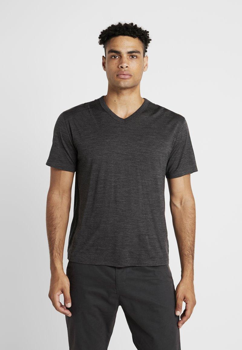 Icebreaker - TABI TECH LITE  - Print T-shirt - dark grey melange