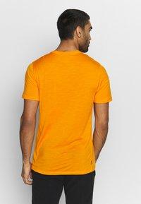 Icebreaker - TECH LITE CREWE PEAK PATTERNS - T-shirts print - sun - 2