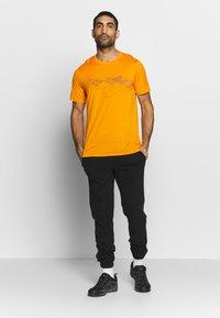 Icebreaker - TECH LITE CREWE PEAK PATTERNS - T-shirts print - sun - 1
