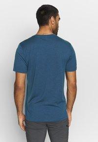 Icebreaker - TECH LITE CREWE CADENCE PATHS - T-shirts print - estate blue - 2