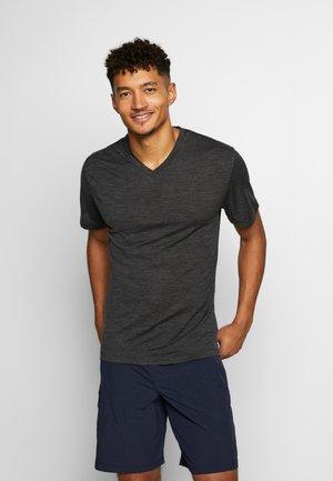 RAVYN - T-shirts basic - jet heather