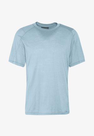 NATURE DYE GALEN  - T-shirt - bas - true indigo light