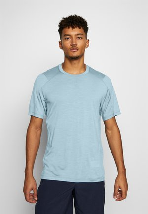 NATURE DYE GALEN  - T-shirts basic - true indigo light