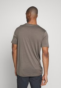 Icebreaker - TECH LITE CREWE TETONS SALMON - T-shirts print - driftwood - 2