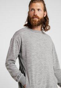 Icebreaker - TABI REAL CREWE - Sweatshirt - mottled grey - 4